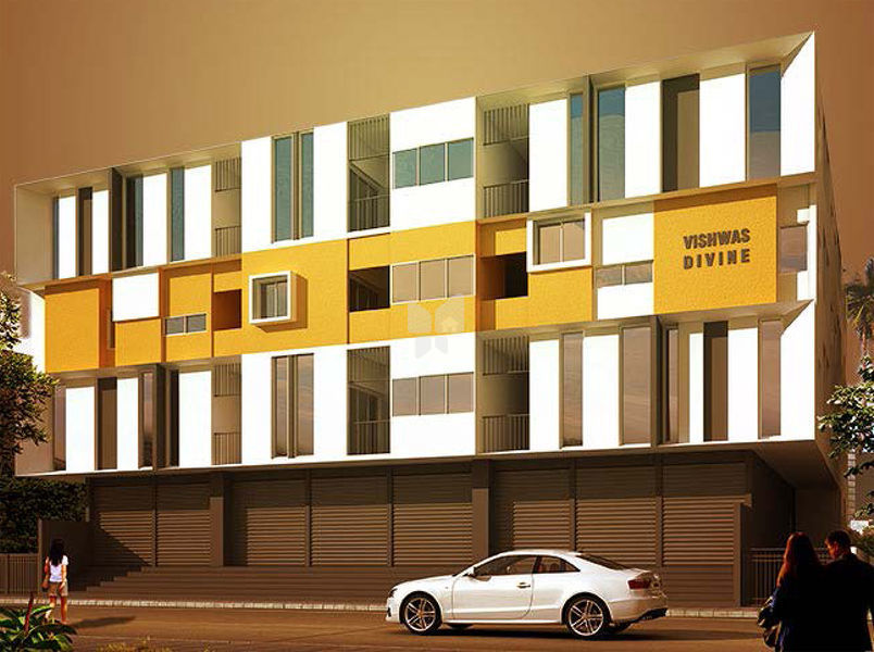 VSPL Vishwas Divine - Elevation Photo