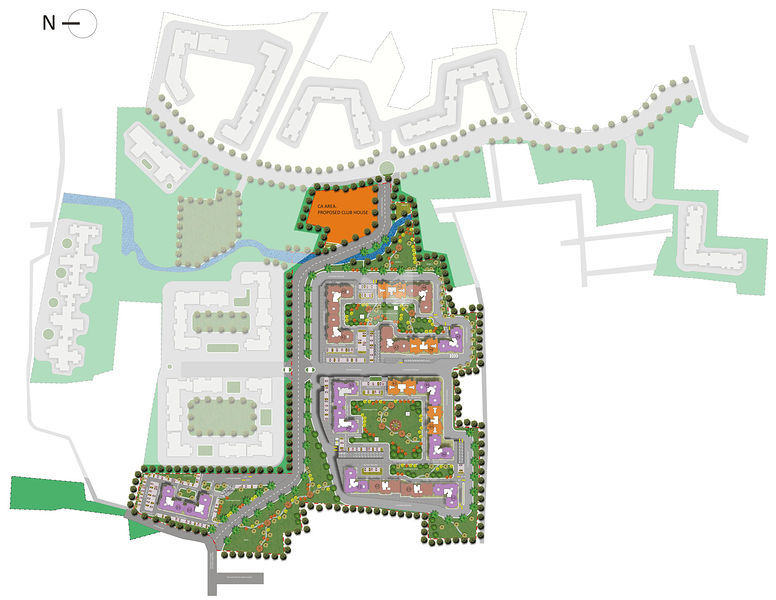 Westend Heights New Town in Off Bannerghatta Road