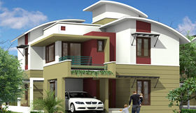 Sankalpa Green Park Villas - Elevation Photo