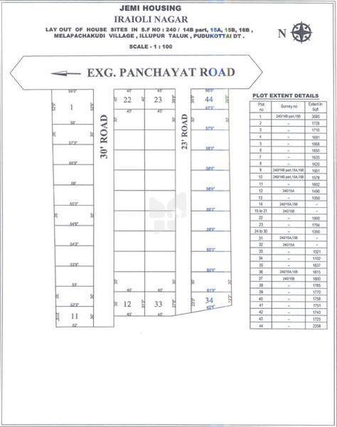 Jemi Iraiyoli Nagar Plot - Master Plans