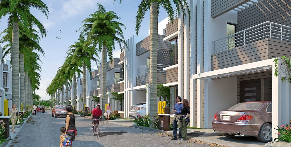 Aurum Fourseasons Villas Phase I - Elevation Photo