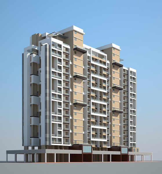 Globe Apartments: Globe Paradise @ Rs 1.50 Crores In Dombivli East, Mumbai