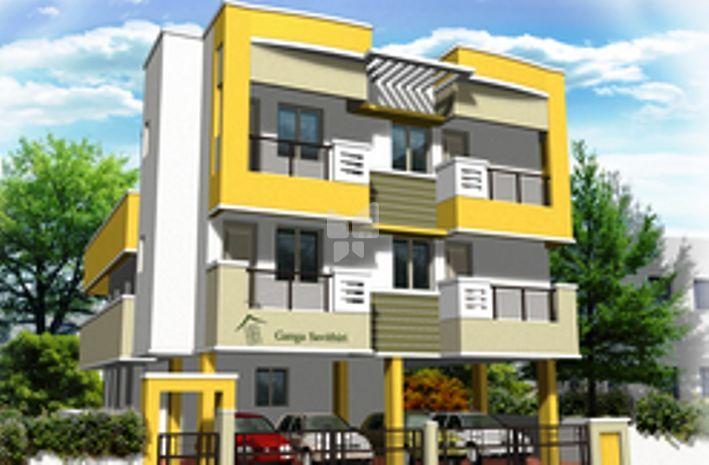 Ganga Savithri Apartment - Elevation Photo