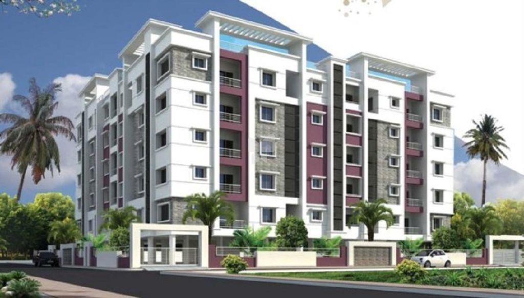 ADR Jaya Bharathi Heights - Elevation Photo