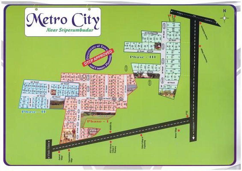 Southern Metro City - Master Plans