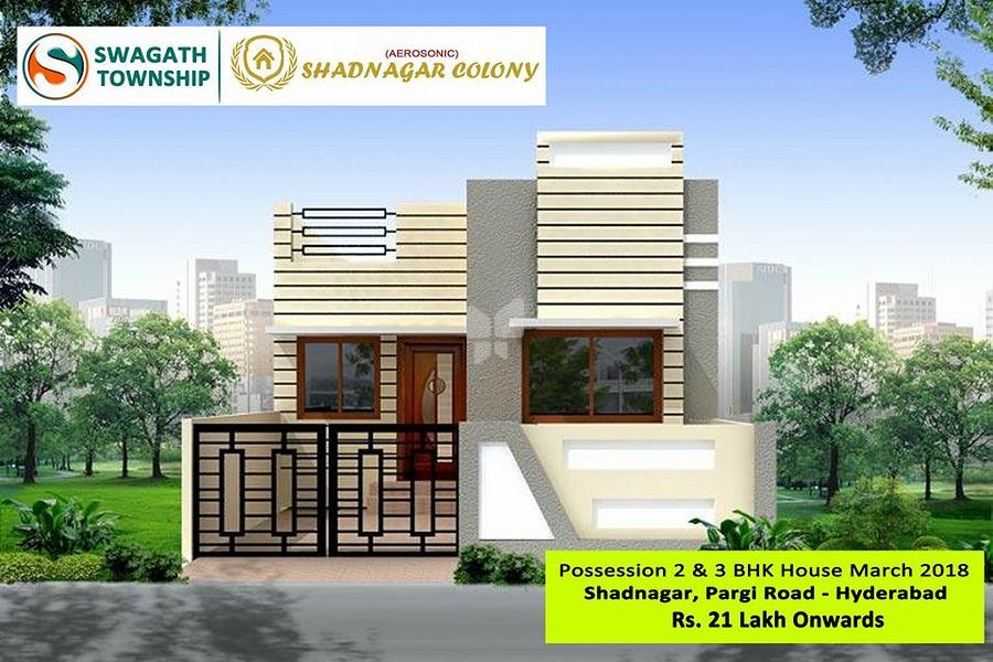 Swagath Aerosonic - Shadnagar Colony - Elevation Photo