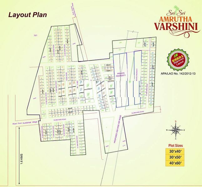 Sri Amrutha Varshini Plots - Master Plans