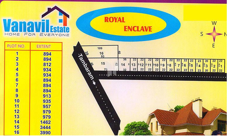 Vanavil Royal Enclave - Master Plan