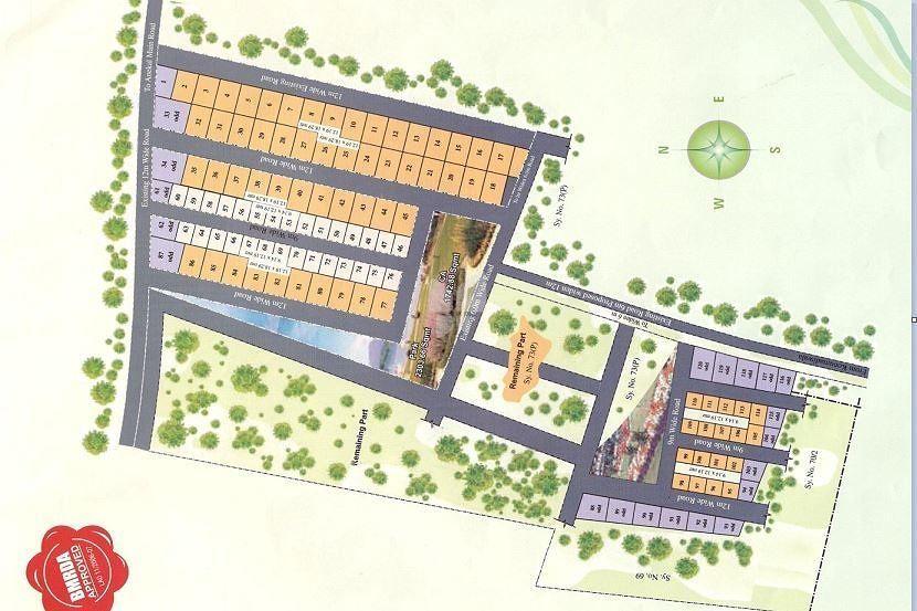 Mahaveer Green Meadows - Master Plan