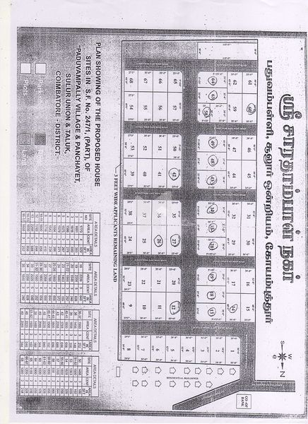 Real Value Sarathambal Nagar - Master Plan