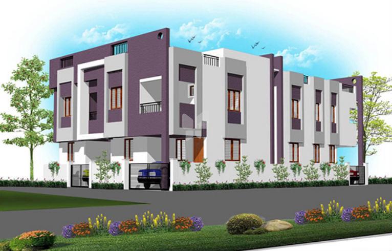 Ryka Homes Rudra - Elevation Photo