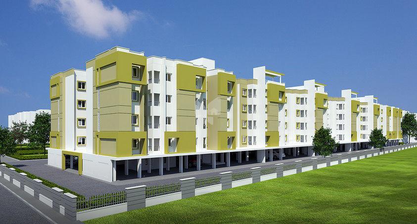 Shriram Properties Samekana - Elevation Photo