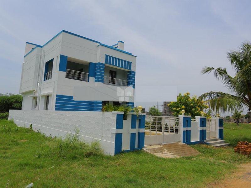Pallava Garden Villa - Elevation Photo
