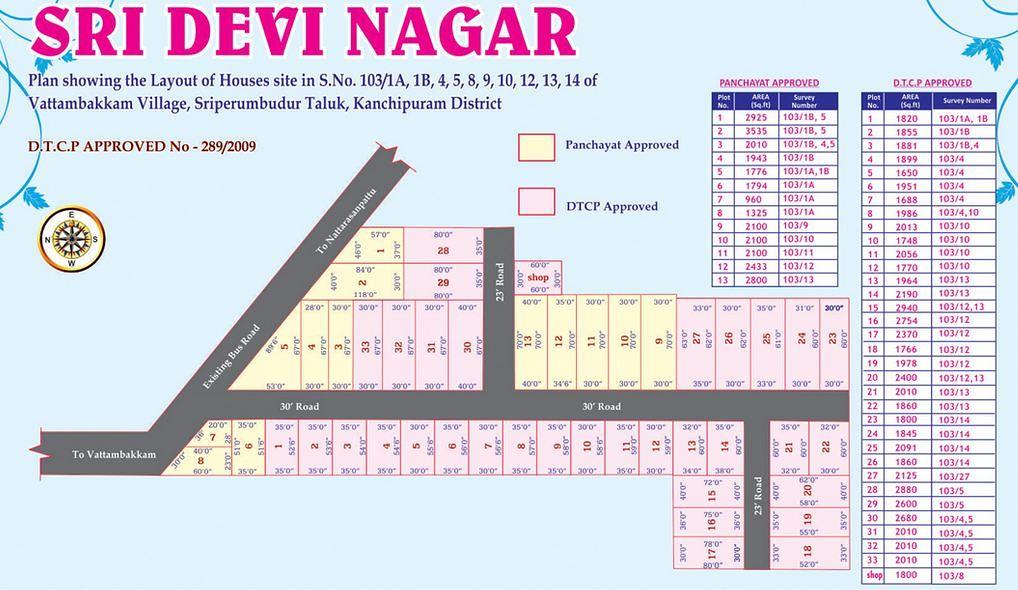 ATS Estates Sri Devi Nagar - Master Plan