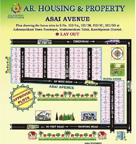 AR Asai Avenue - Master Plans