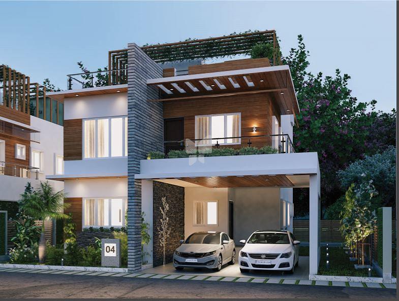 Elevation | Adithya Windsor Park Villa In Kavundampalayam, Coimbatore