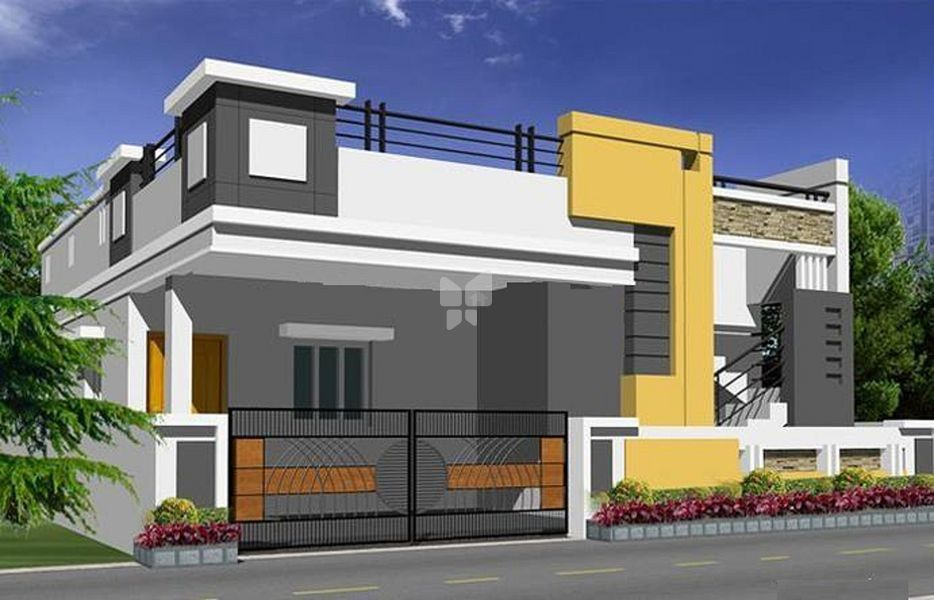 Swastikk Swaram Villas - Elevation Photo