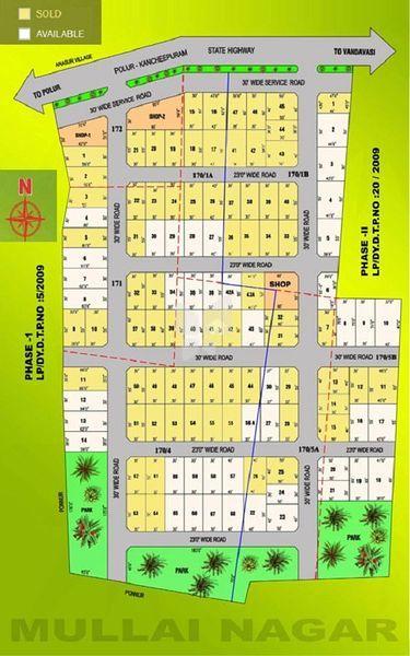 Darshan Mullai Nagar - Master Plans
