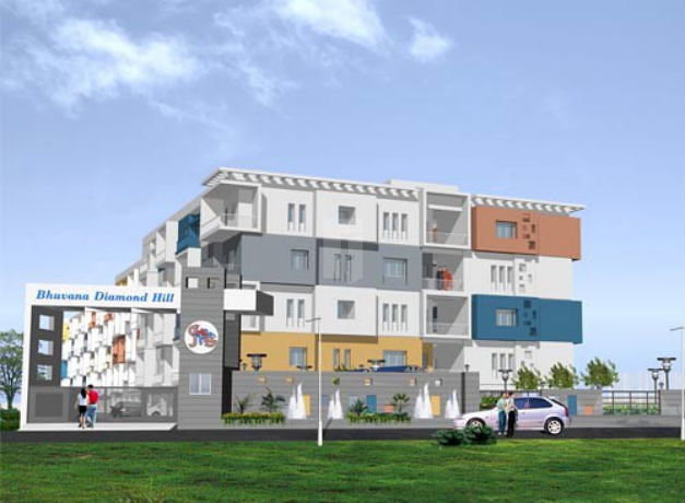Bhuvana Diamond Hill - Project Images