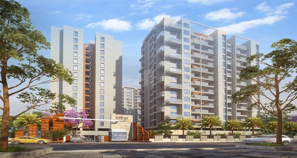 Life 360 @ Rs 75 94 Lakhs in Rahatani, Pune by Namrata Group and SMP Realty  - Get TruePrice, Brochure, Amenities, Price Trends and Map on RoofandFloor