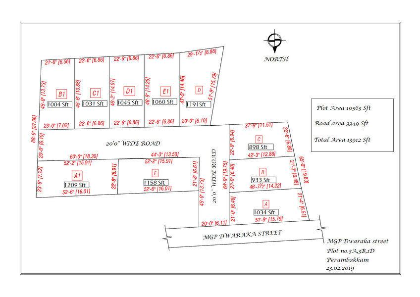 MGP Dwaraka Street - Master Plan