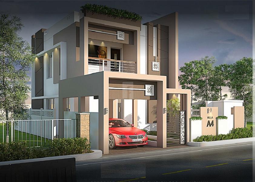 Saishri Anandhaya Enclave - Elevation Photo