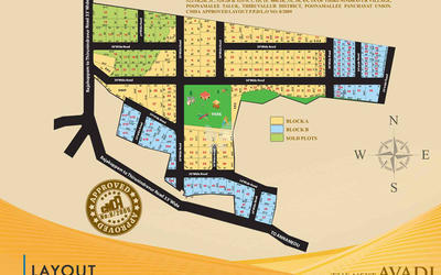 vip-prime-acres-in-avadi-location-map-lxl