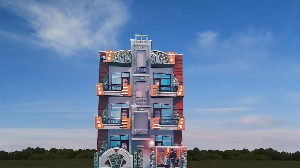 Krishna Apartment 6 - Elevation Photo