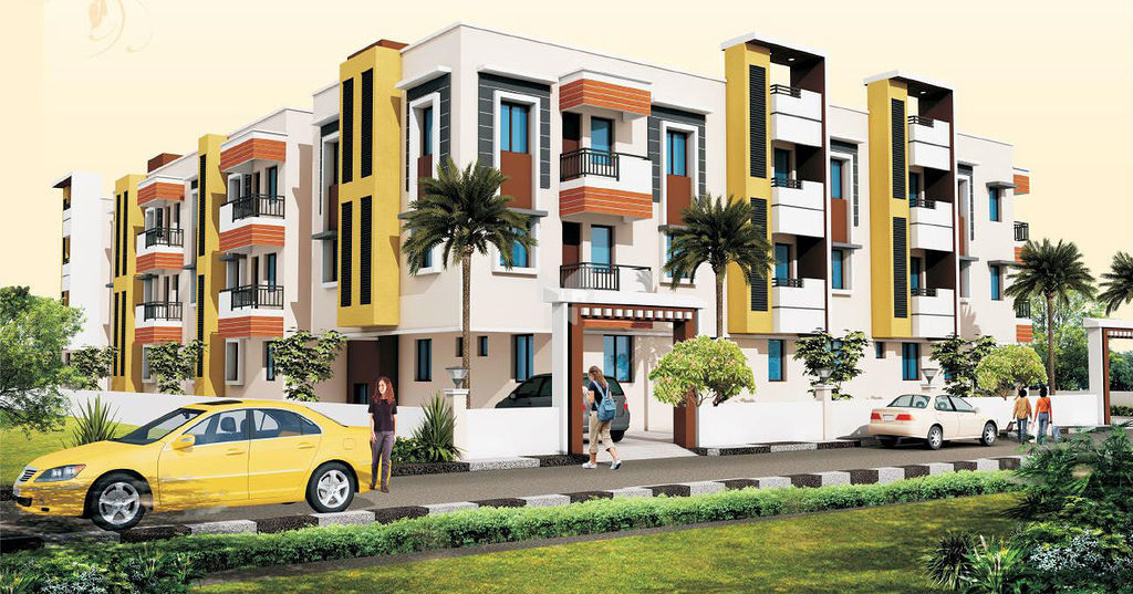 Bharath Green Garden - Elevation Photo