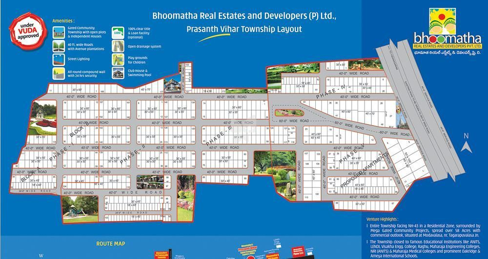 Bhoomatha Prasanth Vihar - Project Images