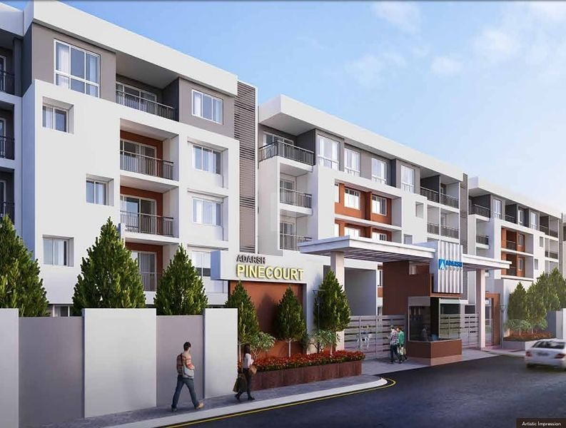 Adarsh Pinecourt - Elevation Photo