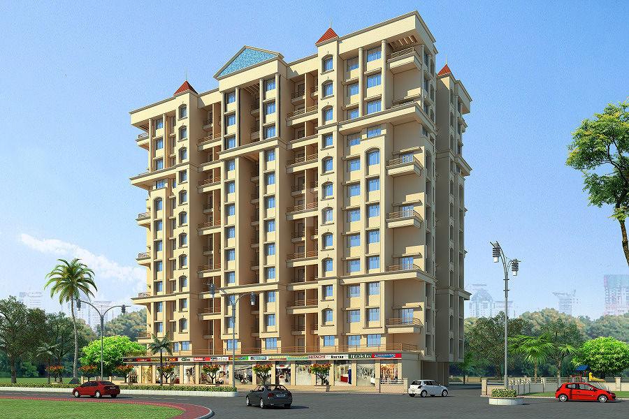 Patel RPL Jainam Residency Phase 2 - Elevation Photo