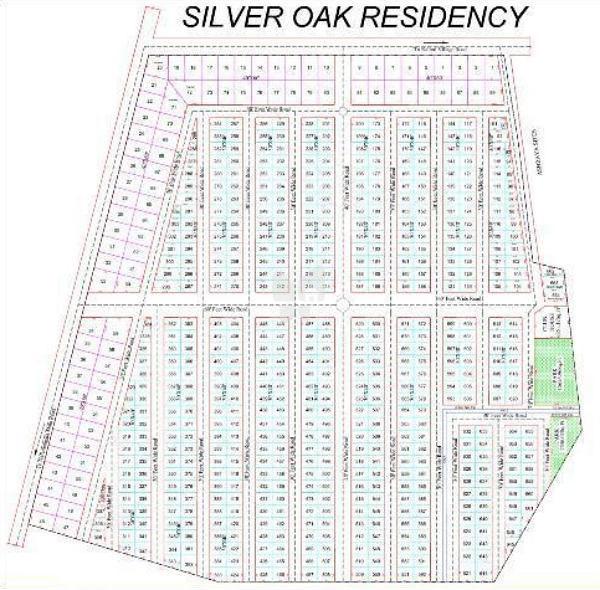 Silver Oak Residency - Master Plans