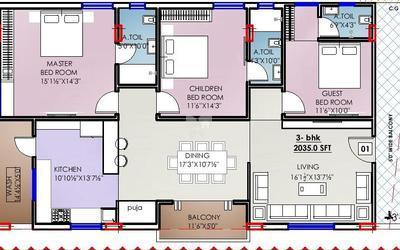 aryamitra-trillium-in-puppalaguda-floor-plan-2d-1a9p