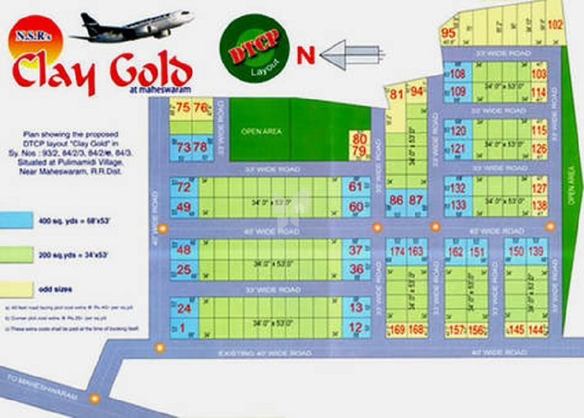 NSR Clay Gold - Master Plans