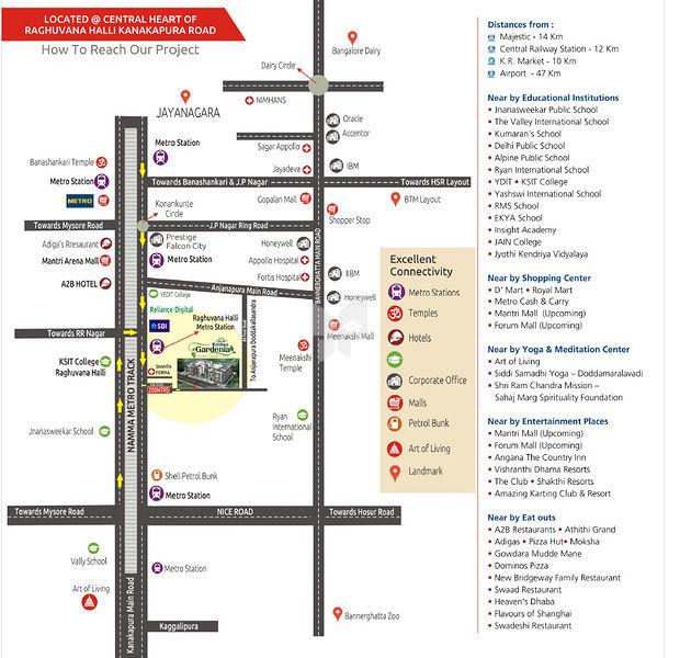 VK Krishna Gardenia @ Rs 65 27 Lakhs in Kanakapura Road, Bangalore by VK  Developers - Get TruePrice, Brochure, Amenities, Price Trends and Map on