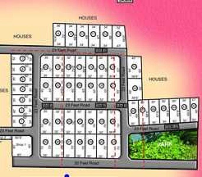 ABI Sri  Shakthi Nagar - Master Plan