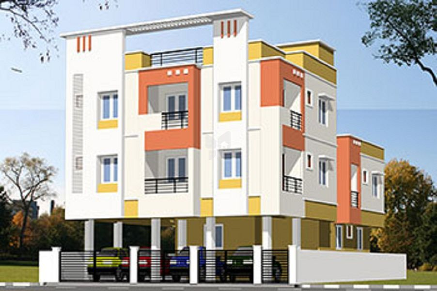 Om Builders Saraswathi Nagar Flat - Elevation Photo