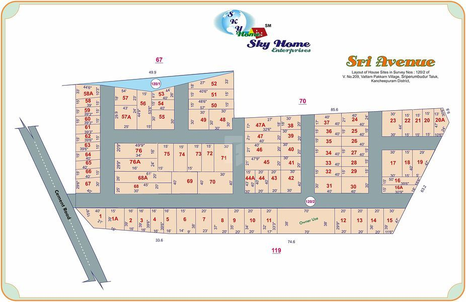 Sky Sri Avenue - Master Plan