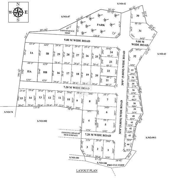 Sri Devaghi Nagar - Master Plans