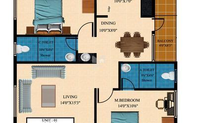 balaji-krupa-in-hebbal-floor-plan-2d-1asr