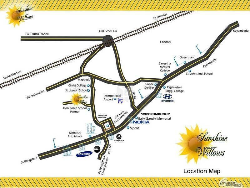My Asset Sunshine Willows Phase I - Location Maps