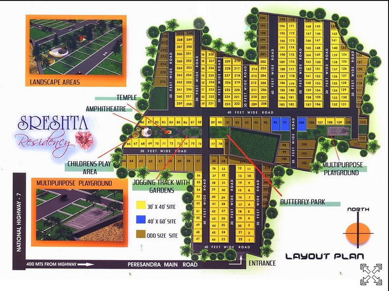 Sreshta Residency - Master Plans