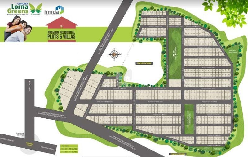Lorna Greens Premium Residences And Plots - Master Plans