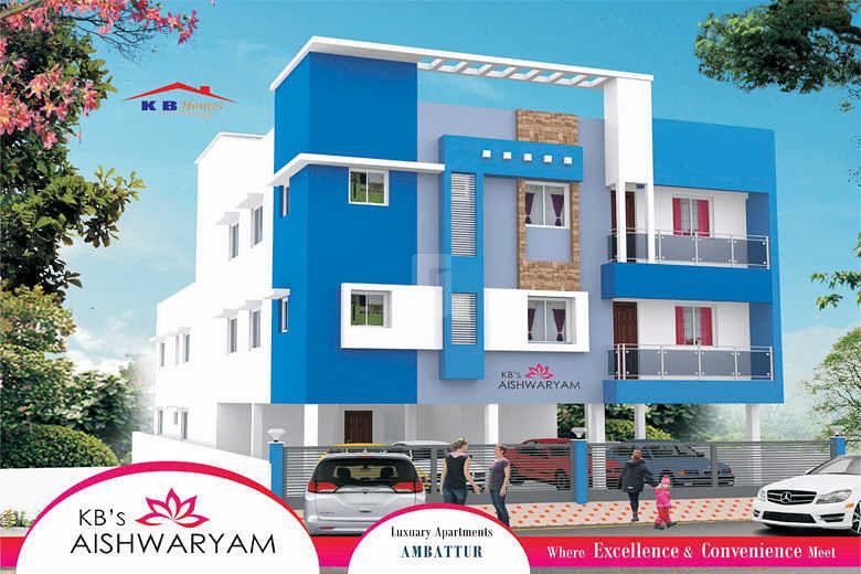 KB's Aishwaryam - Elevation Photo