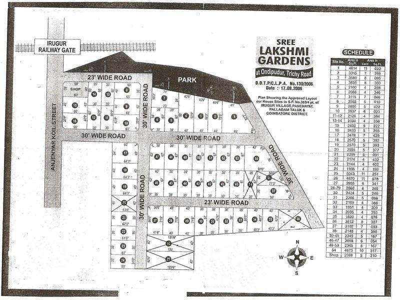 Lakshmi Garden - Master Plans