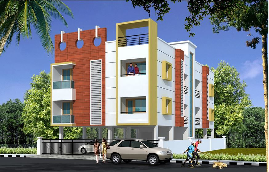 Lakshmi apartments choolaimedu in choolaimedu chennai for Apartment plans and elevations