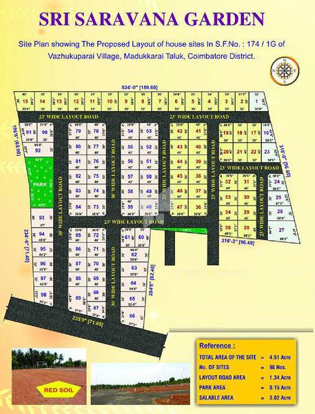 SKM Sri Saravana Garden - Master Plans