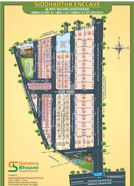 Sahasra Bhoomi Siddartha Enclave - Master Plans