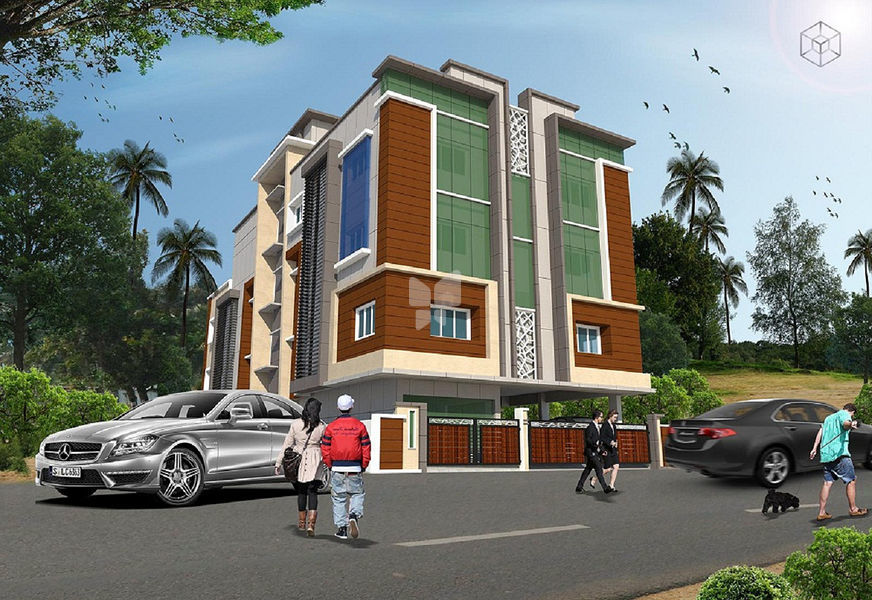 SG Service Apartment - Elevation Photo